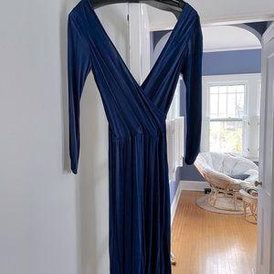 RepliKATE Halston faux wrap dress